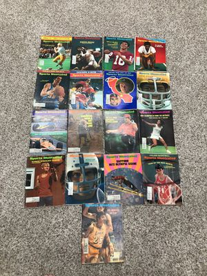 Lot of 1971 Sports Illustrated magazines 17 issues for Sale in Torrance, CA