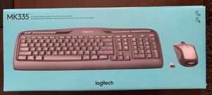 Logitech wireless keyboard and mouse MK335 for Sale in Salt Lake City, UT