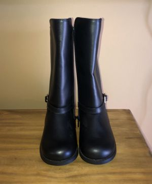 Gymboree girls size 9 black boots for Sale in Boca Raton, FL