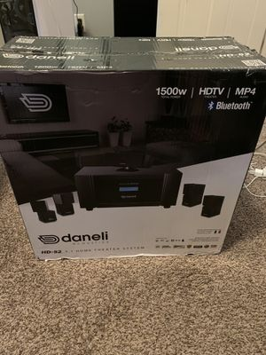 Daneli acoustics home theater sistem for Sale in Chambersburg, PA