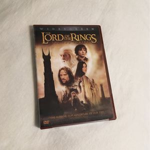 2 Disc-The Lord of The Rings: The Two Towers [Widescreen] for Sale in Troy, MI