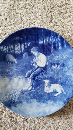 Vintage Delft- Holland Handpainted plate for Sale in Lodi, CA