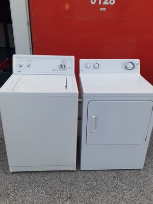 Washer electric dryer set no issues free delivery and install for Sale in St. Louis, MO