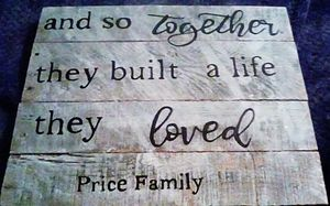 Personalized Wood Sign for Sale in US