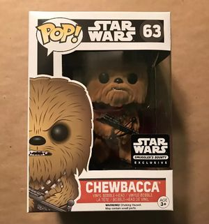 Funko Pop Star Wars Chewbacca #63 Action Figure for Sale in North Huntingdon, PA