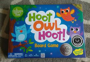 Hoot Owl Hoot Cooperative Kids Board Game for Sale in Wyandotte, MI