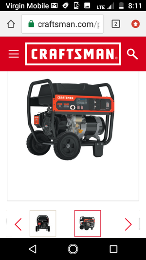 Craftsman generator for Sale in Seattle, WA