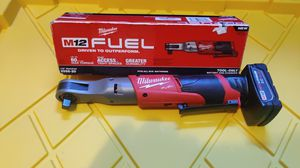 "MILWAUKEE M12 FUEL 1/2"" RATCHET BRUSHLESS TOOL WITH 4.0AH BATTERY NEW $145 for Sale in Chula Vista, CA"