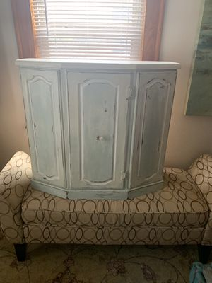 Find Myles Stout cabinet opens up in front right start one shelf inside in great condition for Sale in Medford, MA