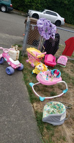 Baby girl kids toys and accessories!!! for Sale in Tacoma, WA
