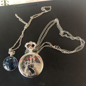 Before Christmas pocket watch and necklace together for Sale in Denver, CO