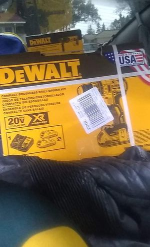 Compact drill kit with two batteries and a charger for Sale in Stockton, CA