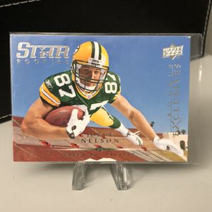 JORDY NELSON - 2008 Upper Deck ROOKIE EXCLUSIVES - Green Bay Packers 🏈 for Sale in Pompano Beach, FL
