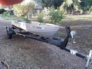14 foot sea nymph aluminum boat for Sale in Gilbert, AZ