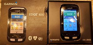 Garmin Edge 1000 Speed+Cadence+HR+GPS for Sale in Naperville, IL