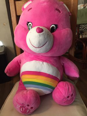 "Care Bear 32"" Tall Jumbo Pink Rainbow Bear Plush Toy 2015 Stuffed Animal Large for Sale in Los Angeles, CA"