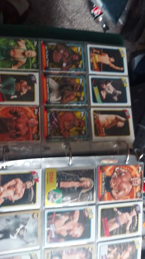 Mainly wrestling cards for Sale in Westminster, CO