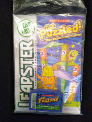 Leapster Get Puzzled Game for Leap Frog for Sale in Largo, FL