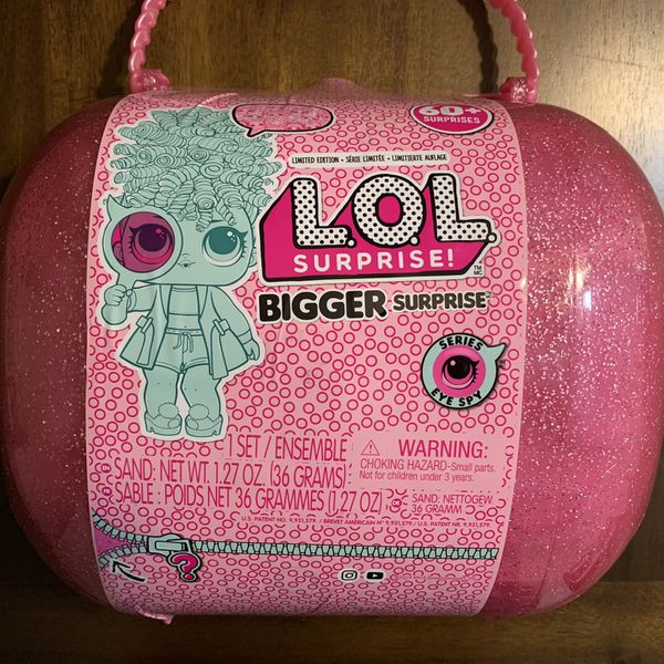 LOL Surprise! Bigger Surprise with 60+ Surprises Giant LOL Ball Mystery Toy