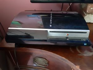 PS3 160GB with wired controller and all cords for Sale in Washington, DC