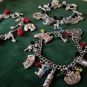 Alice in Wonderland Charm Bracelet for Sale in Irvine, CA
