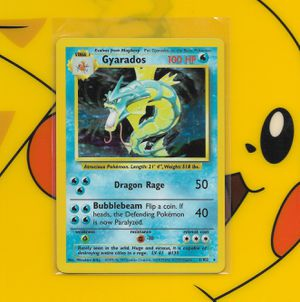 Pokemon: Gyarados #6, Base Set, NM + Build-Your-Own Booster!!! for Sale in Chesilhurst, NJ