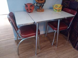 1950's Formica chrome kitchen Dinette table for Sale in Marysville, WA