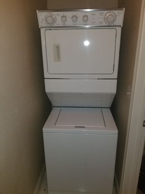 Washer and dryer stackable together in good condition nice and clean for Sale in Oakland, CA