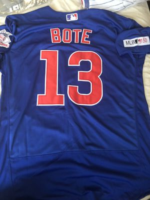 Chicago cubs Bote Jersey for Sale in Plainfield, IL