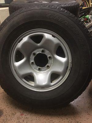 245 75 16 tires/rims for Sale in Queen Creek, AZ