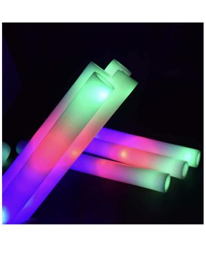 LED Light Up Foam Sticks Three Modes Color Changing Glow Party Supplies for Halloween, Raves, Concer for Sale in Hacienda Heights, CA