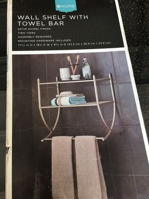 Wall shelf with towel bar for Sale in Lodi, CA