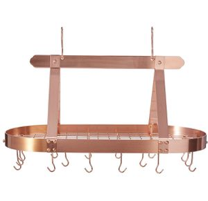 Old Dutch pot rack — satin copper — NEVER USED for Sale in Tacoma, WA