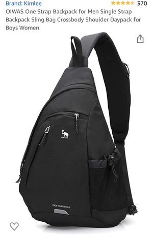 Sling Backpack- Black for Sale in Dumfries, VA