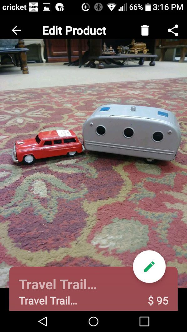 Car and travel trailer