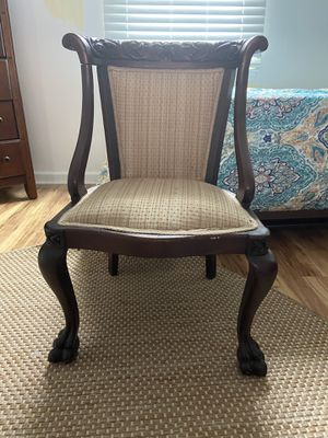Antique chair. Lovely hand carvings. $25.00 for Sale in Durham, NC
