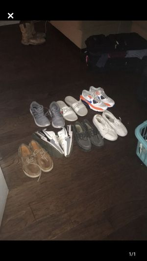 Sperrys , air max, vans , adidas, champion slides for Sale in Farmers Branch, TX