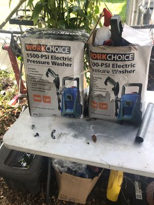 Two pressure washers for Sale in Orlando, FL