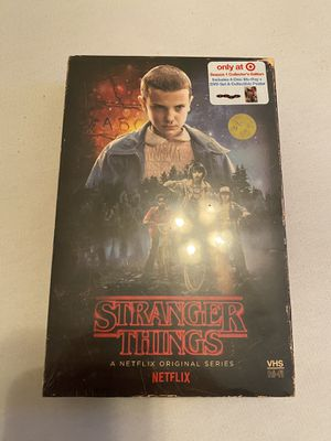 Brand new Stranger Things Blu-ray/DVD collectors edition for Sale in Avondale, AZ