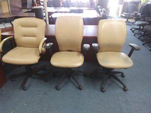 $70 each beige office chairs for Sale in Houston, TX