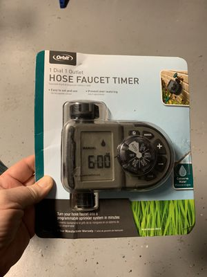 Orbit 1 hose faucet timer for Sale in Brandon, FL