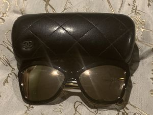 Authentic Chanel Pre owned Cat eye mirror sunglasses for Sale in Kennewick, WA