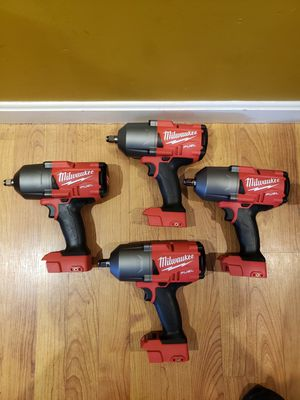 Impact wrench fuel milwaukee for Sale in MD CITY, MD