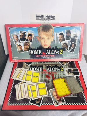 Vintage 1992 THQ Home Alone 2 Board Game for Sale in Pawtucket, RI