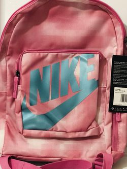 Nike Kids Classic Backpack Pink Blue Silver for Sale in Washington,  DC