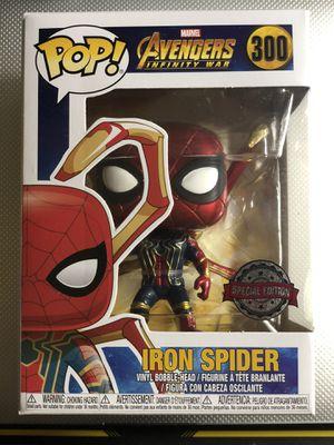 Funko Pop! Iron Spider #300 Avengers Infinity War Target Exclusive for Sale in Industry, CA