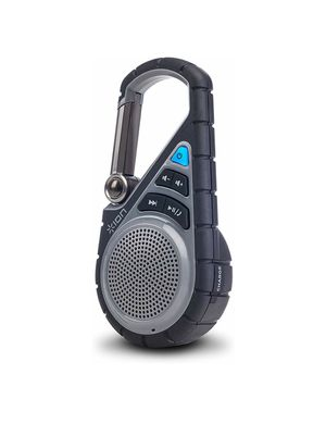 ON Audio Clipster Active | Bluetooth Clip-On Outdoor Speaker with Waterproof Rubber Covering & Mounting Bracket for Sale in York, PA