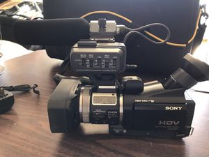 Sony HDV 1080i High Definition Professional Camcorder for Sale in Cave Creek, AZ