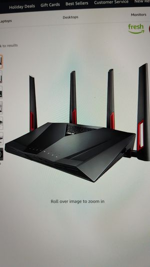 Asus Dual Band Gaming Wifi Router AC 3100 for Sale in Irvine, CA