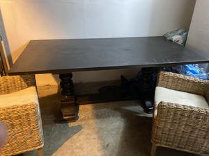 Dark brown dining table for Sale in San Juan Capistrano, CA
